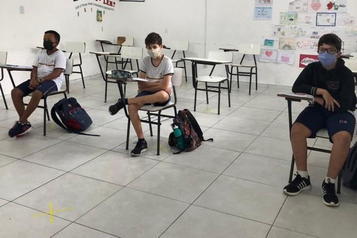 Recomeçam hoje aulas presenciais na Rede Estadual de Ensino da Paraíba