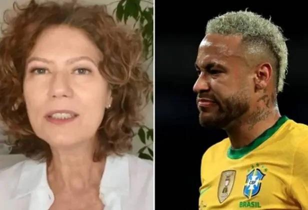 "Patrícia Pillar critica Neymar e afirma que falta ""empatia e delicadeza"" ao jogador"