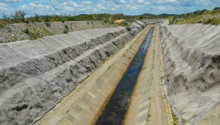 Águas da Transposição do Velho Chico chegam no Açude de Boqueirão