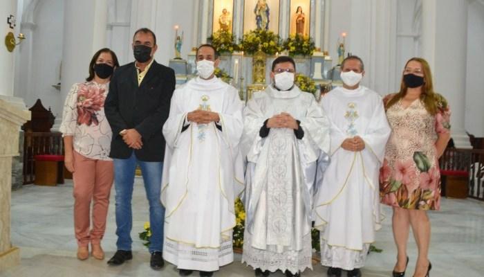 Vice-prefeito, secretários e vereadores participam da abertura da Festa da Padroeira de Monteiro