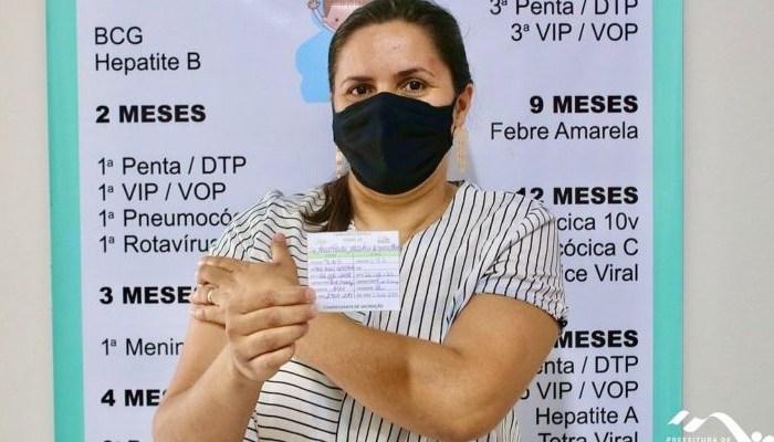 Cidade do Cariri conclui 2° dose em todos os profissionais da educação