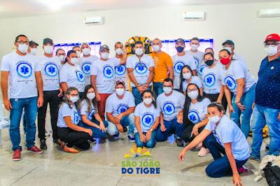 São João do Tigre realiza curso voltado aos profissionais de saúde do município