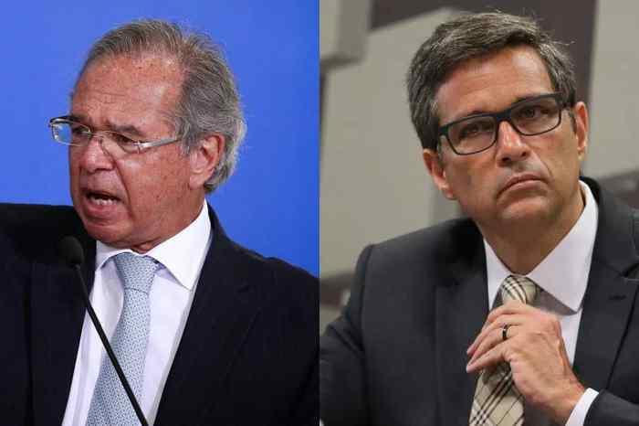 Guedes e Campos Neto afirmam que contas no exterior foram declaradas à Receita
