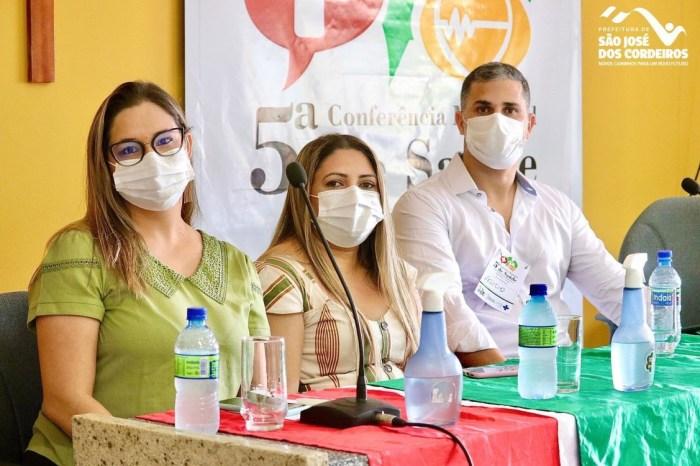 Secretaria de Saúde de São José dos Cordeiros promove a 5° Conferência Municipal de Saúde