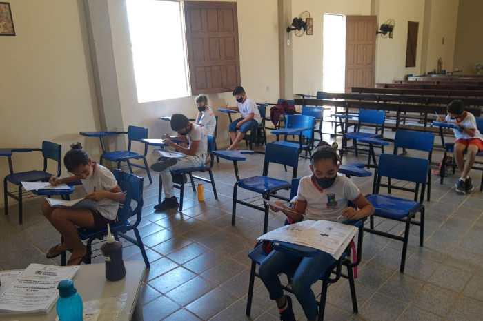Sumé: secretaria de Educação encerra aplicação de provas do Programa Integra PB