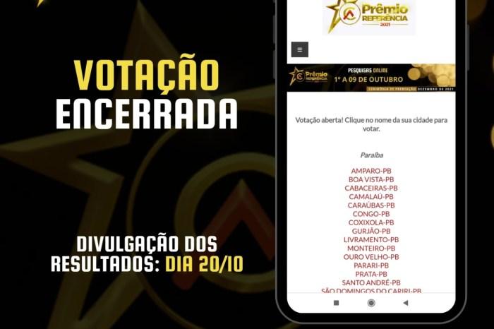 ENCERRADA: Cariri em Ação finaliza votação para o Prêmio Referência 2021
