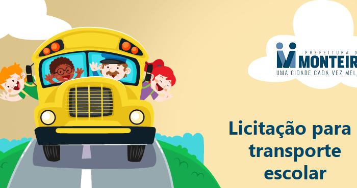 Prefeitura de Monteiro abre licitação para transporte escolar visando o retorno das aulas
