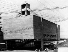 Centro Paroquial São Bonifácio, São Paulo, 1966. Arquiteto Hans Broos Foto divulgação  [Acervo Hans Broos]