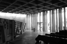 Abadia Santa Maria, São Paulo, 1975. Arquiteto Hans Broos Foto divulgação  [Acervo Hans Broos]