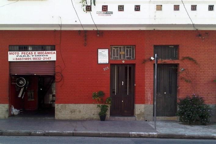 Oficina mecânica de motocicletas, Grotão da Bela Vista<br />Foto Abilio Guerra