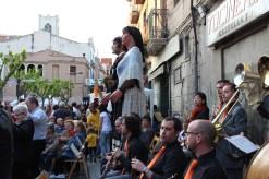 Gegants i cobla Sant Jordi 2013