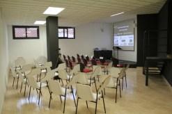 La sala de formació va ser l'espai on es va realitzar l'acte inaugural // David Guerrero