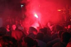 El foc va estar present al pregó de la Festa Major // Jose Polo