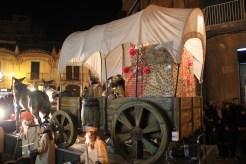 Un carro de cavalls portava els regals // Jordi Julià