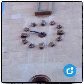 El rellotge de l'església