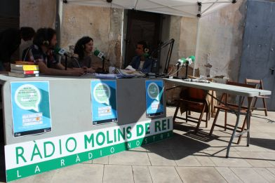 Ràdio Molins de Rei al Sant Jordi 2015 // Jose Polo