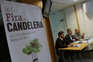 Paz, Casals i Sànchez durant la roda de premsa // Jose Polo