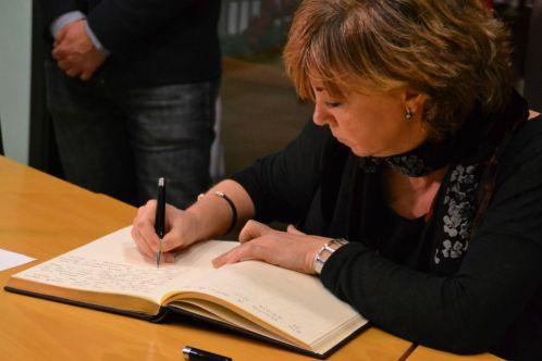 Ha estat la primera visita oficial del nou govern català a Molins de Rei // Elisenda Colell