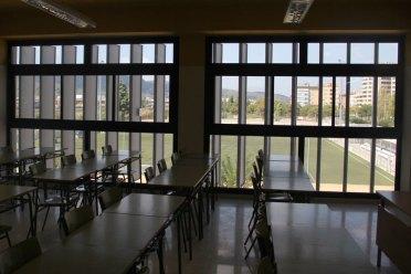 Algunes aules tenen vistes a la Zona Esportiva Ricard Ginebreda // Jordi JuliàAlgunes aules tenen vistes a la Zona Esportiva Ricard Ginebreda // Jordi Julià