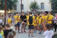 La celebració al pati del Palau va cloure la cercavila // Jordi Julià