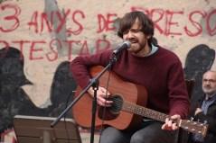 Miquel Bernis va tornar a ser Senyor Cordills després d'haver aturat el seu projecte musical // Jordi Julià