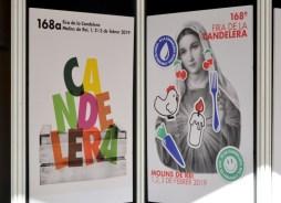 A l'esquerra, el cartell oficialment guanyador d'enguany i a la dreta, la verge censurada // DGM