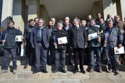 Foto de família del concurs de planters de la Fira de la Candelera // DGM