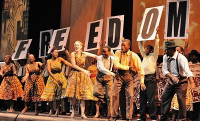 Mandela Trilogy presented by Cape Town Opera. Credit John Snelling