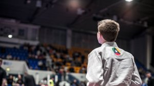 Ethan at the Kids BJJ Euros