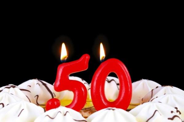 Ventajas de tener cincuenta años