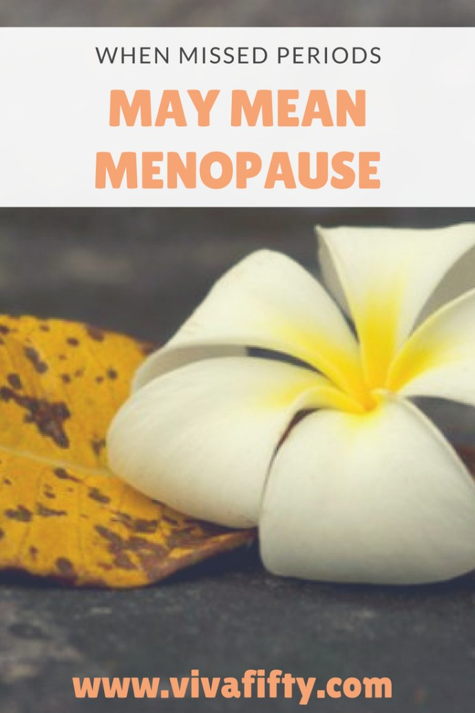During perimenopause it can be normal to start skipping periods. It can be an odd and perhaps scary feeling. Here is how I dealt with it. #menopause #perimenopause #missedperiods