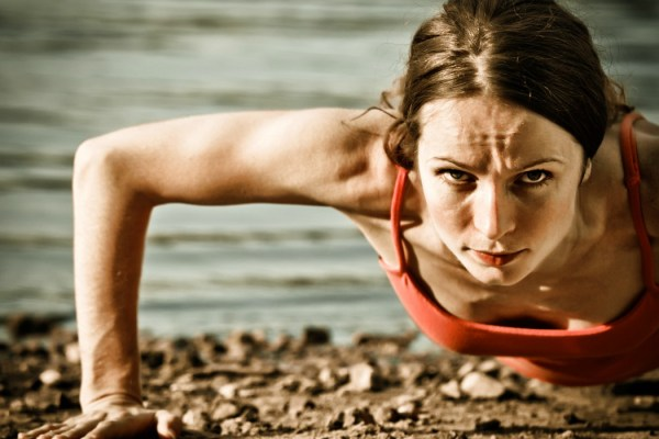 The classic push up is one of the best exercises to tone your arms