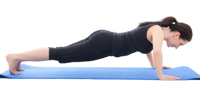 Classic push ups are effective for arm toning
