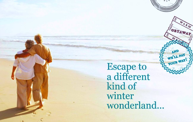 Passport to Paradise, a different kind of winter wonderland