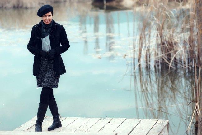 Vestidos de invierno para mujeres maduras