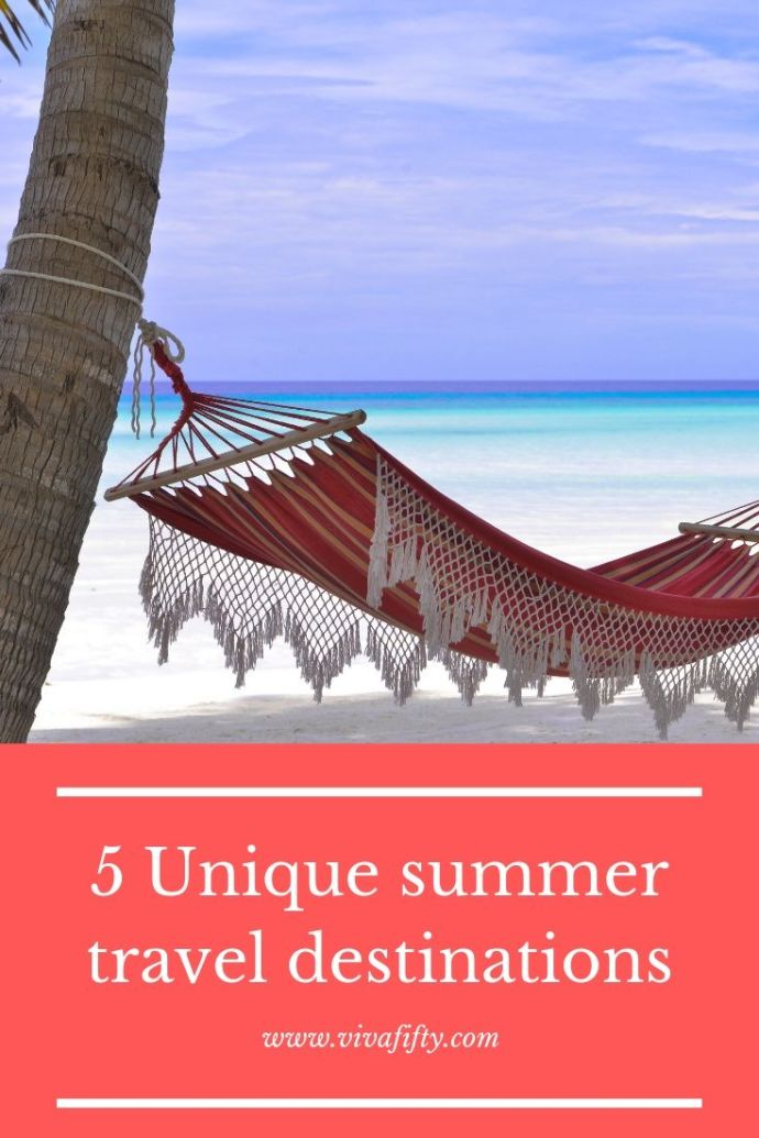 It's the middle of summer and time to think of a vacation. Here are 5 distinct travel locations worthy of a long visit or maybe a multi-city tour. #travel #summer #trips