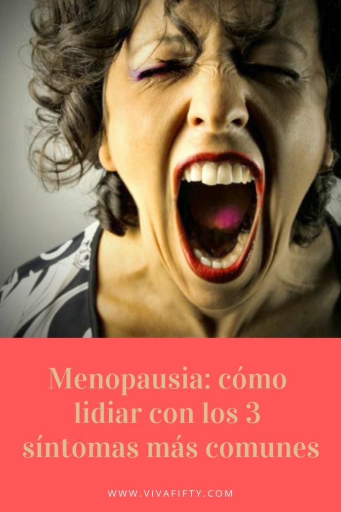 La menopausia tiene muchos síntomas distintos, pero aquí te enumeramos los tres más habituales, junto con sus remedios, para hacértelo más llevadero. #menopausia #perimenopausia