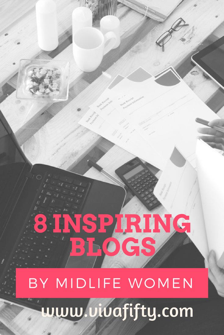 8 Inspiring blogs by midlife women– Viva Fifty!