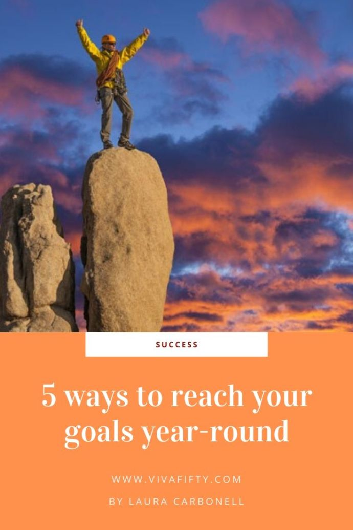 5 useful and easy tips to help you meet your goals or resolutions no matter what the time of year. Here are actionable steps to help you succeed.