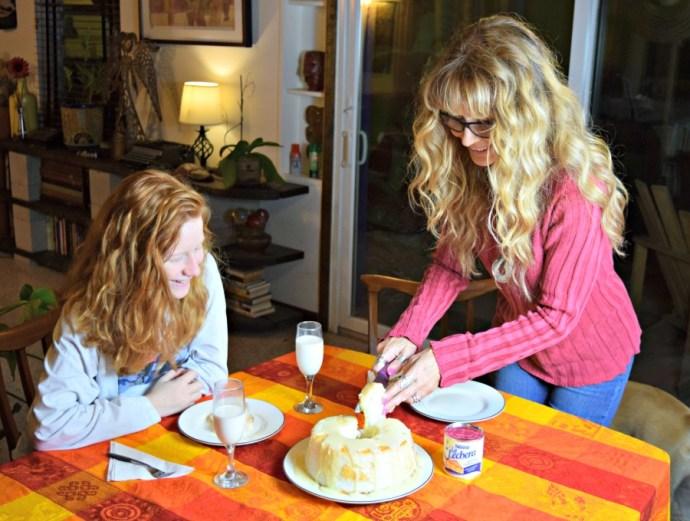 Así recreo tradiciones familiares con mi hija