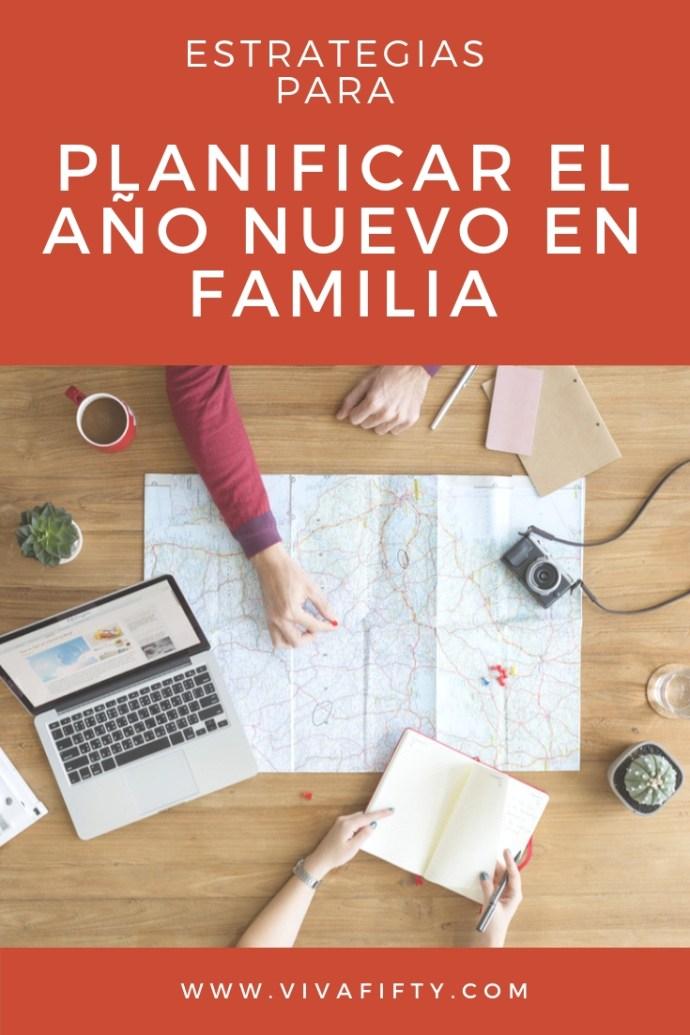 A continuación te ofrezco algunas estrategias que uso con mi familia para planificar el año que empieza. #añonuevo #metas #familia