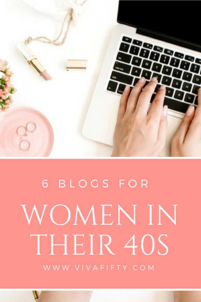 These 6 blogs by midlife women tell the story of being over 40, in different voices. We love them and hope you do too. #over40 #over50 #midlife #blogs