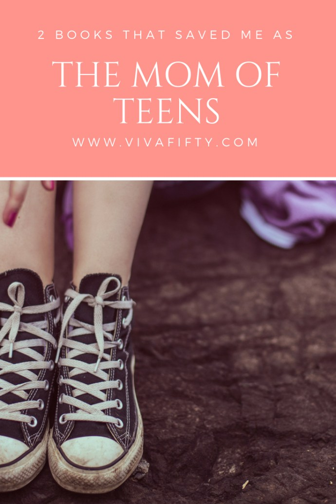 Moms of teens need all the help we can get. Of all the books on parenting teens I've read, these two are the ones I keep by my bedside. I hope they help you too. #parenting #teens #teenagers #books