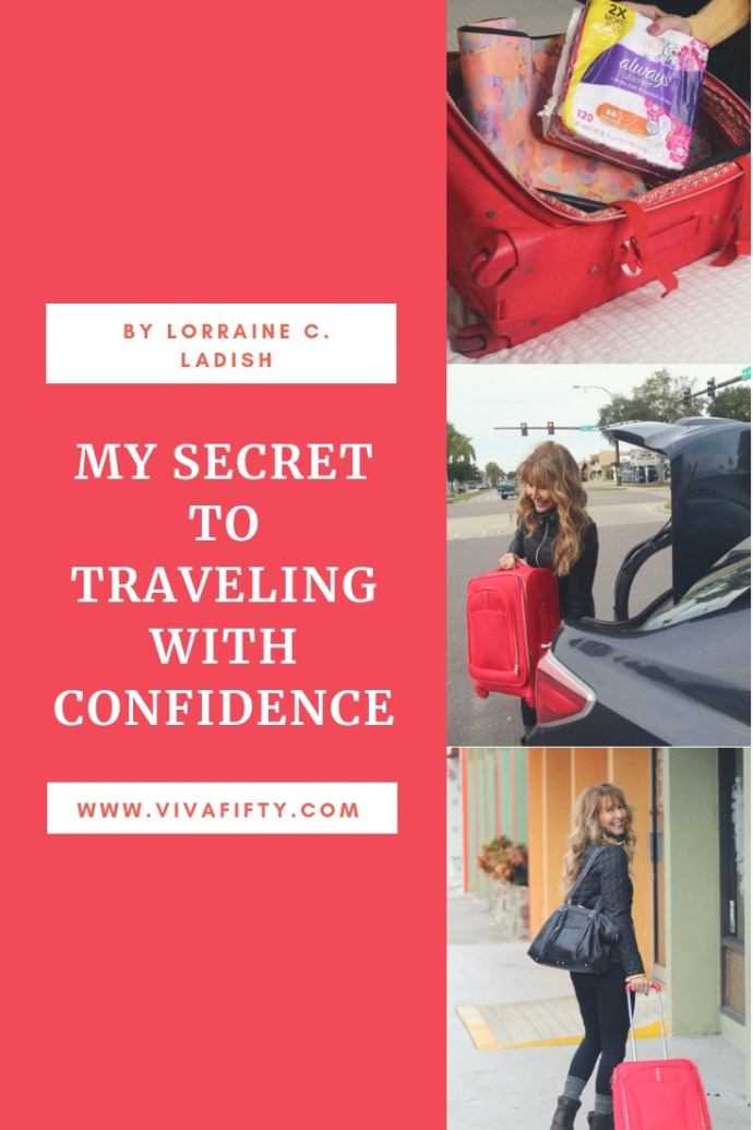 #AD If you´re gearing up for holiday travel, I hope my tips to make list-making and packing easier will help you enjoy your trip! Always Discreet is one of my travel essentials to manage bladder leaks. Read about it in my blog post! #incontinence #bladderleaks #health #midlife