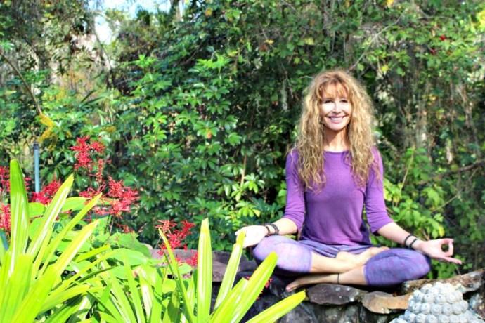 Lorraine C. Ladish at Heartwood yoga teacher training for 50+