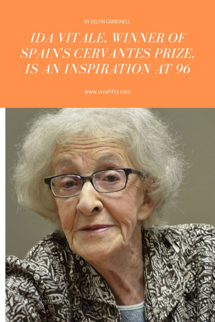 This year´s Cervantes Prize goes to Ida Vitale, a 96-year-old Uruguayan poet who is an inspiration to us all. #idavitale #culture #literature