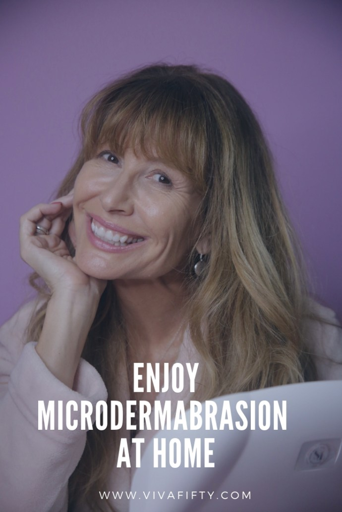 #AD Microdermabrasion can be costly and time-consuming. With this device, you can treat your skin in the comfort of your own home. #DiscoverYourBestSkin #skincare #microdermabrasion