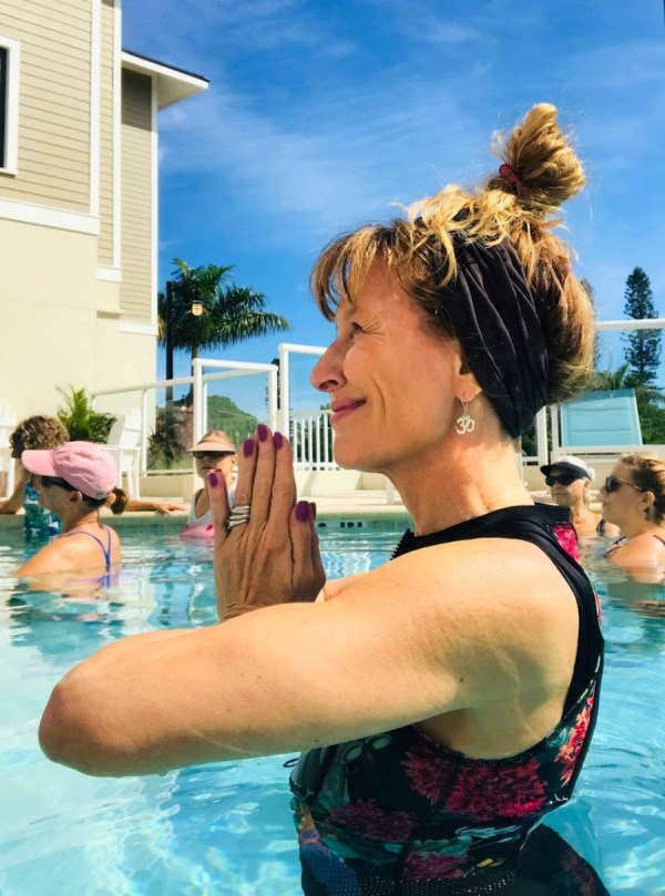 Aqua yoga is a great way to practice this discipline in an environment that makes it easy on the joints. It's also a fun and social way to explore asana yoga.