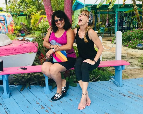 A girls' weekend camping in Pine Island, Florida