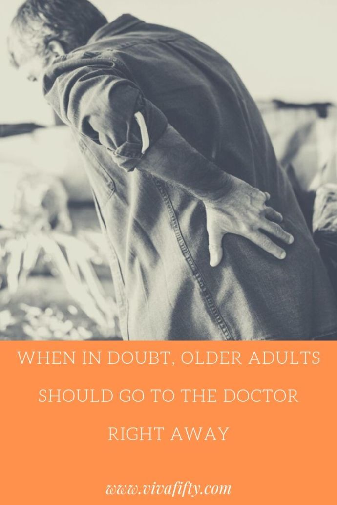 As we age, our body's immune system is often not as effective as it used to be in fighting infections. This is why older adults should go to the doctor ASAP. #sponsored #health